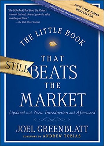 """""""The little book that beats the market"""""""