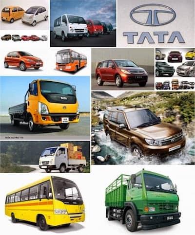Samochody Tata Motors